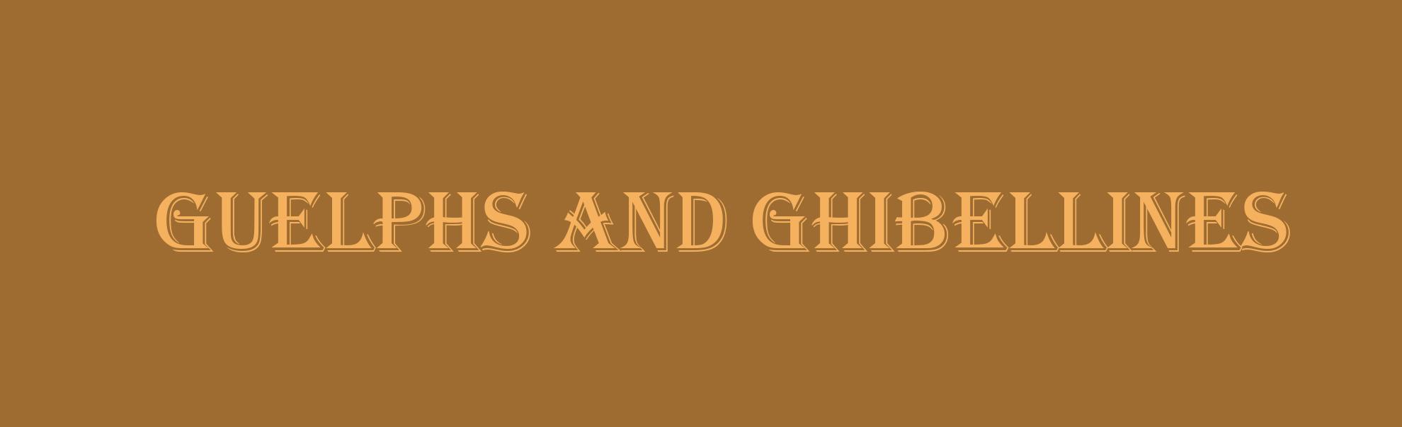 Борьба гвельфов и гибеллинов во Флоренции