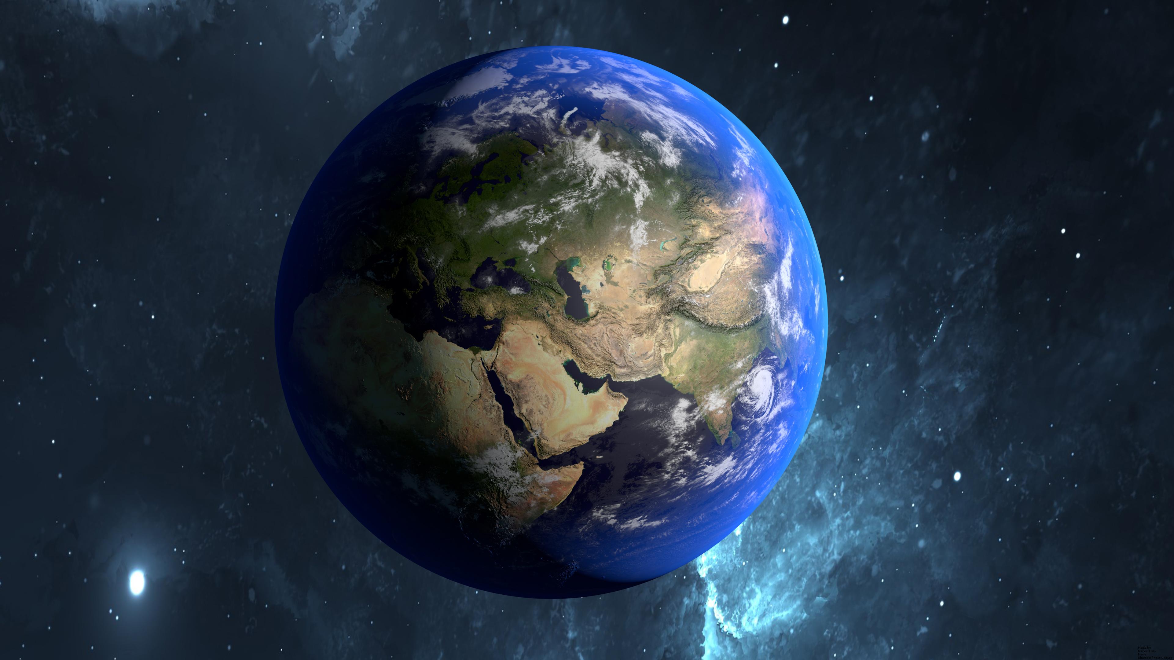 фото земли из космоса в высоком качестве просто